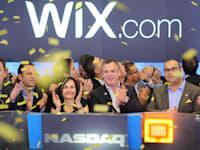 """הנפקת וויקס wix במסחר הנאסד""""ק / צילום: נאסד""""ק OMX"""