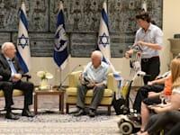 זיכרון בסלון בבית נשיא המדינה / צילום: מארק ניימן-לע''מ