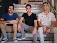 המייסדים: מודי רדשקוביץ, סמנכ״ל תפעול, אורן ברזילי, מנכ״ל ועודד גולן, סמנכ״ל מוצר / צילום: נופר תגר