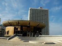 כיכר אתרים בת''א / צילום: תמר מצפי