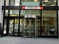 בנק HSBC בניו יורק / צילום: תמר מצפי