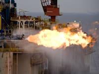 קידוח הנפט תמר 1 ליד חיפה / צילום: אלבטרוס