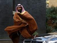 יורש העצר מוחמד בן סלמאן / צילום: Associated Press, Alastair Grant