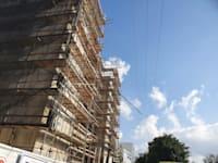 אתר הבנייה באשדוד בו נהרג היום פועל / צילום: איחוד הצלה