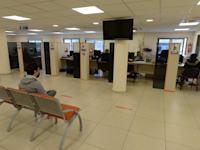 לשכת תעסוקה בחולון / צילום: איל יצהר