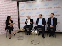 רז קינסטליך, ארקדי פומרנץ ובני ביטון / צילום: איל יצהר