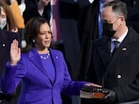 קאמלה האריס מושבעת לסגנית נשיא / צילום: Reuters, Kevin Lamarque