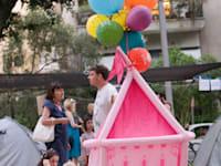 """אוהלי המחאה שדרות רוטשילד ,ת""""א בגלל מחירי הדיור / צילום: שלומי יוסף"""