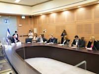 דיון בוועדת הכנסת על הצעת חוק למיסוי רווחים ממשאבי טבע / צילום: דוברות הכנסת