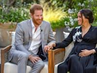 מייגן מרקל והנסיך הארי בראיון לאופרה וינפרי / צילום: Associated Press, (Joe Pugliese/Harpo Productions