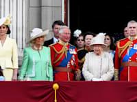 משפחת המלוכה הבריטית ב-2019 / צילום: Reuters, PA Images