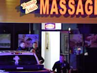 הרוגים  באירוע ירי שאירע במכוני עיסוי באטלנטה / צילום: Associated Press, Mike Stewart