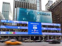 """נק ברקליס מברך את צים לרגל הנפקתה בבורסת ניו יורק. / צילום: יח""""צ"""