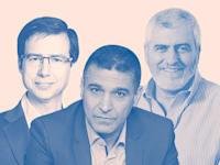 דב קוטל, משה לארי וחנן פרידמן / צילום: איל יצהר, אורן דאי