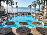 הבריכה של מלון אריאה באילת / צילום: אסטרל