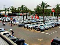 קונים ביום הבחירות בביג פרדס חנה / צילום: ביג מרכזי קניות