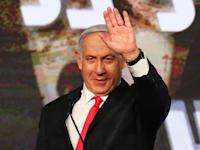 בנימין נתניהו במטהו, אמש / צילום: Reuters, AMMAR AWAD