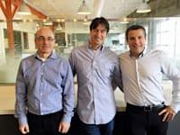 """המייסדים: חורי, גולדשטיין וטפירו / צילום: באדיבות נקסט אינשורנס (יח""""צ)"""