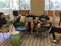משרדי החברה במגדל רסיטל בתל אביב / צילום: JFrog