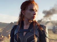 """סצנה מתוך הסרט """"האלמנה השחורה"""" / צילום: Associated Press, Marvel Studios/Disney"""