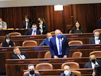 אביגדור ליברמן בהשבעת הכנסת / צילום: דוברות הכנסת, תדמית הפקות