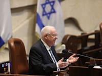 השבעת הכנסת ה 24, רובי ריבלין / צילום: אלכס קולומויסקי-ידיעות אחרונות