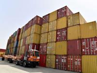 מכולות בנמל חיפה בשבוע שעבר. כמות המשלוחים גדלה, יכולת הפריקה נותרה קבועה / צילום: פאול אורלייב