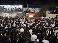 """ל""""ג בעומר במירון לפני הקורונה. התקהלות של חצי מיליון בשגרה / צילום: Associated Press"""