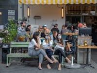 רחוב דיזנגוף, תל אביב בתקופת הקורונה / צילום: כדיה לוי