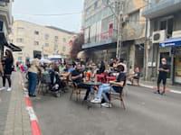 בתי קפה ומסעדות לאחר הסגר בתל אביב / צילום: מיכל רז חיימוביץ