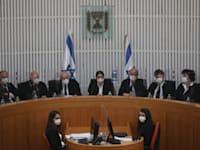 שופטי בית המשפט העליון / צילום: אמיל סלמן-הארץ