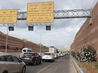 פקק תנועה השבוע בכביש 471 ליד פתח תקוה ? / צילום: גיא ליברמן