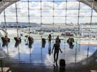 נמל התעופה שארל דה גול בצרפת / צילום: Shutterstock, bellena