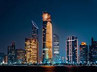רובע העסקים של אבו דאבי / צילום: Shutterstock, Mo Azizi