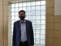 אילן ישועה בבית המשפט / צילום: אבישי גרינצייג