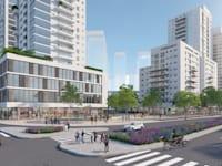 תוכנית מרכז נתניה / הדמיה: אדריכלית ליאת איינהורן פנחס
