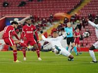 ליברפול נגד ריאל מדריד בליגת האלופות. התאחדויות כדורגל בעולם מאיימות בחרם על המועדונים והשחקנים / צילום: Associated Press, Jon Super