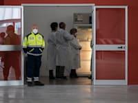 בית חולים בקטנזארו, איטליה / צילום: Reuters, Valeria Ferraro /SOPA Images