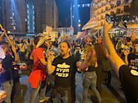 מפגינים נגד נתניהו בבלפור / צילום: התנועה לאיכות השלטון