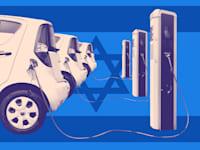 הרכב החשמלי בישראל / עיבוד: טלי בוגדנובסקי