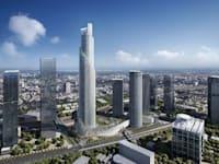 מגדל הספירלה של קבוצת עזריאלי בתל אביב / צילום: KPF