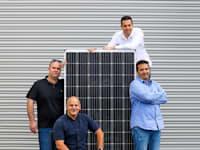 מימין למעלה: נדב טנא, עופר ינאי, שחר גרשון ונעם פישר / צילום: שלומי יוסף