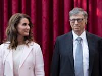 ביל ומלינדה גייטס. לא ברור כיצד יתחלק ההון בין השניים / צילום: Reuters