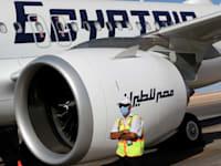 מטוס של חברת התעופה המצרית. טיסות ישירות לקהיר / צילום: Reuters, MOHAMED ABD EL GHANY