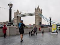 לונדון בסוף אפריל. תיפתח לישראלים בעוד כשבוע / צילום: Reuters, Dominika Zarzycka/Sipa USA