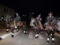 כוחות משטרה בלוד השבוע / צילום: איל יצהר