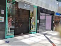 חנויות סגורות בקניון איילון בשל ההסלמה הביטחונית / צילום: בר - אל