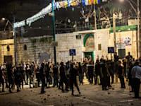 הפרות הסדר בלוד / צילום: Associated Press, Heidi Levine