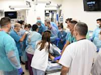 מתוך בית חולים ברזילי, בסבב הלחימה האחרון / צילום: דוד אביעוז, צילום רפואי, דוברות ברזילי
