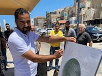 סעיד שאמי, הבעלים של מסעדת פלוקה בעכו / צילום: מני מתוק